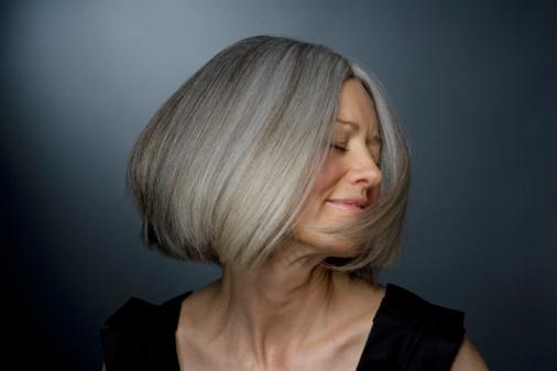 Седые волосы – беда или…?